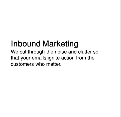 Integrated Inbound marketing that merges traditional CRM and database approaches